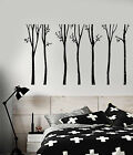 Vinyl Wall Decal Birch Trees Nature Forest Home Interior Sti