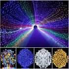 Solar String Lights 100-200 LED Outdoor Garden Party Christmas Fairy Lamp Decor
