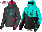 New 2019 FXR Women's Fresh Snowmobile Jacket Black/Mint/Pink Size 8