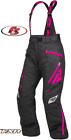 New 2019 FXR Women's Vertical Pro Snowmobile Pants Bibs Black/Fuchsia 12