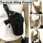 Tactical Invisible Chest Sling Bag Anti-theft Thin Agent Spy Gun Holster Pouch $13.79 USD on eBay