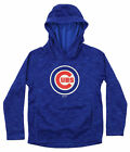 Gen 2 MLB Youth Chicago Cubs Performance Fleece Primary Logo Hoodie on Ebay
