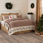 Hollis KING Quilt Holly Berry Farmhouse CHRISTMAS*Choose YourAccessories*ON SALE