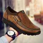 US Fashion Men Antiskid Casual Moccasins Driving Leather Outdoor Breathable Shoe