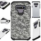FUSIONGuard For Samsung Galaxy NOTE 9 8 S9 S8 Phone Case DIGITAL CAMO GRAY