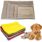 New XS S M L XL Size Dog Pet Crate Kennel Warm Bed Mat Padding Sleep House Color
