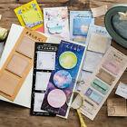 60 Pages Lovely Self Stick Bookmark Marker Memo Post It Tab Flag Sticky Notes