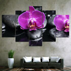 Modern Flowers Art Canvas Oil Painting Picture Print Home Wall Decor Unframed
