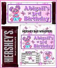 ABBY CADABBY BIRTHDAY PARTY FAVORS CANDY BAR HERSHEY BAR WRAPPERS