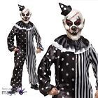 Childs Evil Killjoy Klown Clown Halloween Horror Fancy Dress Costume & Mask Hat