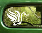 2 TRIBAL SWAN DECAL Bird Stickers For Car Window Truck Bumper Laptop jeep RV