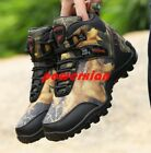 2019 Mens Outdoor Shoes Hiking Shoes Plus Size Trekking Trail Athletic Sneakers
