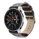 Genuine Leather Strap Wrist Bands for Samsung Galaxy Watch 46mm / Gear S3 22mm  image