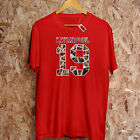 Liverpool 19 Collage T-shirt Winners League Trophy Premier Players Computer Game