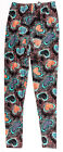 LEGGINGS DEPOT Women's Abstract Hearts Leggings