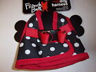Black Dot STEP-IN Body Harness Vest Large L Dog new puppy French Bull no choke