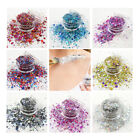 5ml GLITTER POT CHUNKY MIX 3 Grms. FACE EYE FESTIVAL COSMETIC BODY DANCE CLUB