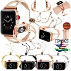 Stainless Steel Wrist Band Bangle Cuff Bracelet Strap for Apple Watch Series 1-3 image