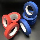 Lots Painters 24MM*50M UV Resistant Clean Peel Masking Tape Blue Red No Residue