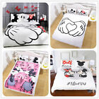 Disney Kids Bedding Set Mickey Minnie Mouse Duvet Cover Pillowcase Quilt Cover image