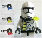 Custom CLONE SPECIALIST Cloth/Armor for Minifigures -Pick Color - Star Wars