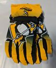 Pittsburgh Penguins Gloves Big Logo Gradient Insulated Winter Unisex S/M L/XL $19.95 USD on eBay