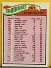 NFL 1977 Topps Football Team Checklist Pick Your Team