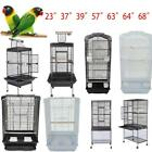 "37"" 23"" 63"" 68"" Bird Pet Cage Parrot Finch Cage Macaw Cockatoo Supplies S/L"