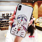 Cute Kitty Cat Glossy Soft TPU Case with Phone Holder iPhone 6 7 8 X XR XS Max