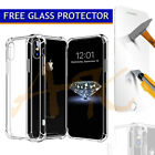 Case For Iphone Xs Max 8 7 6s 6 5 Covr Shockproof 360° Silicone Protective Clear