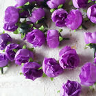 10Pcs Artificial Flowers Small Silk Rose Heads Flower Party Wedding Decor NEW