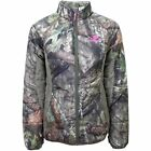 NEW! Camo Pink Mossy Oak Country Insulated Womens Jacket Coat Camouflage Hunting