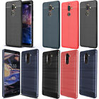 For Nokia 7 Plus TA-1062 Gel Silicone Rubber Case Trendy Cover + Touch Stylus
