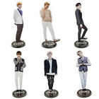 Kpop Star BTS Bangtan Boys Acrylic Stand Figure Double Side Home Table Decor TR