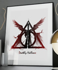 Deathly Hallows Quote Poster Art Print A3 A4 A5 A6 Decor Wall Gift Harry Potter