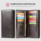 CaseMe Universal Leather Wallet Case Cover Phone Bag For iPhone XS Max XR X 8 7