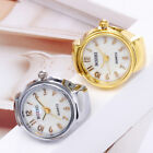 Luxury Dial Quartz Analog Watch Creative Steel Elastic Quartz Finger Ring Watch image
