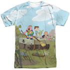 Authentic Clarence TV Show Cartoon Network Boat Sublimation Front T-shirt top