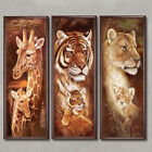 Large Full Drill 5D Diamonds Animal Embroidery Painting Cross Stitch Craft DIY