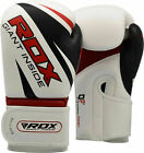 RDX Boxing Gloves MMA Punching Glove Training Bag Sparring Muay Thai Kickboxing