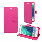 Case For Google Pixel Wallet Flip PU Leather Stand Card Slot Pouch Phone Cover