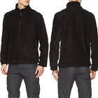 Regatta Thor 350 Mens Warm Anti-Pill Full Zip Fleece Black