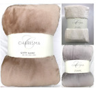 Charisma Plush Blankets Ultra Soft - TWIN / QUEEN / KING image