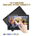 10.1'' Tablet PC Android 7.1 Deca Core 4GB+64GB 10 inch HD WIFI 2 SIM Phablet