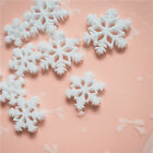 10/20Pcs White Snowflake Ornaments Christmas Holiday Party Home Decor NEW