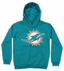 OuterStuff NFL Youth Miami Dolphins Primary Team Logo Fleece Hoodie, Blue on eBay