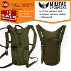 Army Hydration Pack Backpack + 2.5 Litre Water Bladder / Camelbak type Rucksack