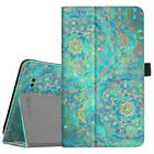 """For T-Mobile Alcatel 3T Tablet 8"""" Case Premium PU Leather Folio Stand Cover"""