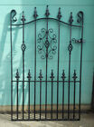 Wrought Iron Metal Garden Gate/Gates-TOP QUALITY-4FT(1219mm)Frame height-AVON