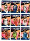 2018 19 Panini Donruss Basketball ALL HEART INSERT You Pick LEBRON CURRY WALL +